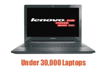 10 Best Laptops Under Rs 30000 April 2017